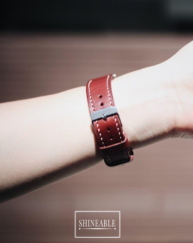 รีวิว สายนาฬิกาหนัง Buttero (Italian Leather) จากร้าน Aquila Handcraft