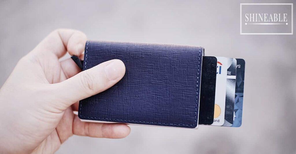 RFID Blocker Wallet กระเป๋าสตางค์ที่ออกแบบมาเพื่อป้องกันขโมยโดยเฉพาะ