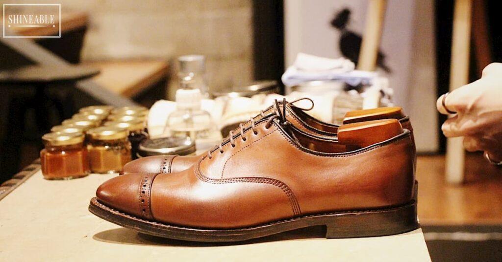 รีวิว เอารองเท้าไปขัดกับนักขัดรองเท้า (Shoeshiner) ญี่ปุ่น Terashima Naoki