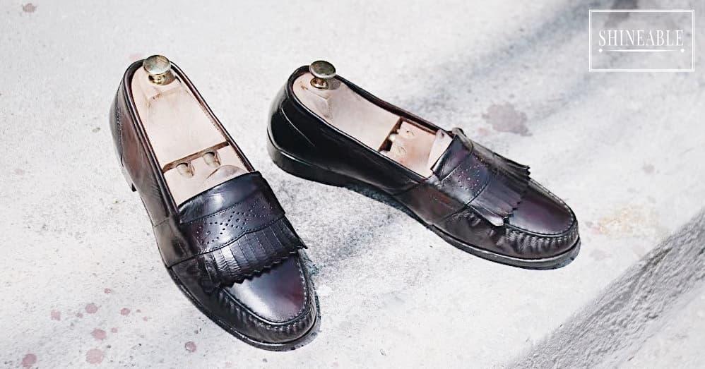 รองเท้าหนัง101: รองเท้าโลฟเฟอร์แนววินเทจ Kiltie Loafer