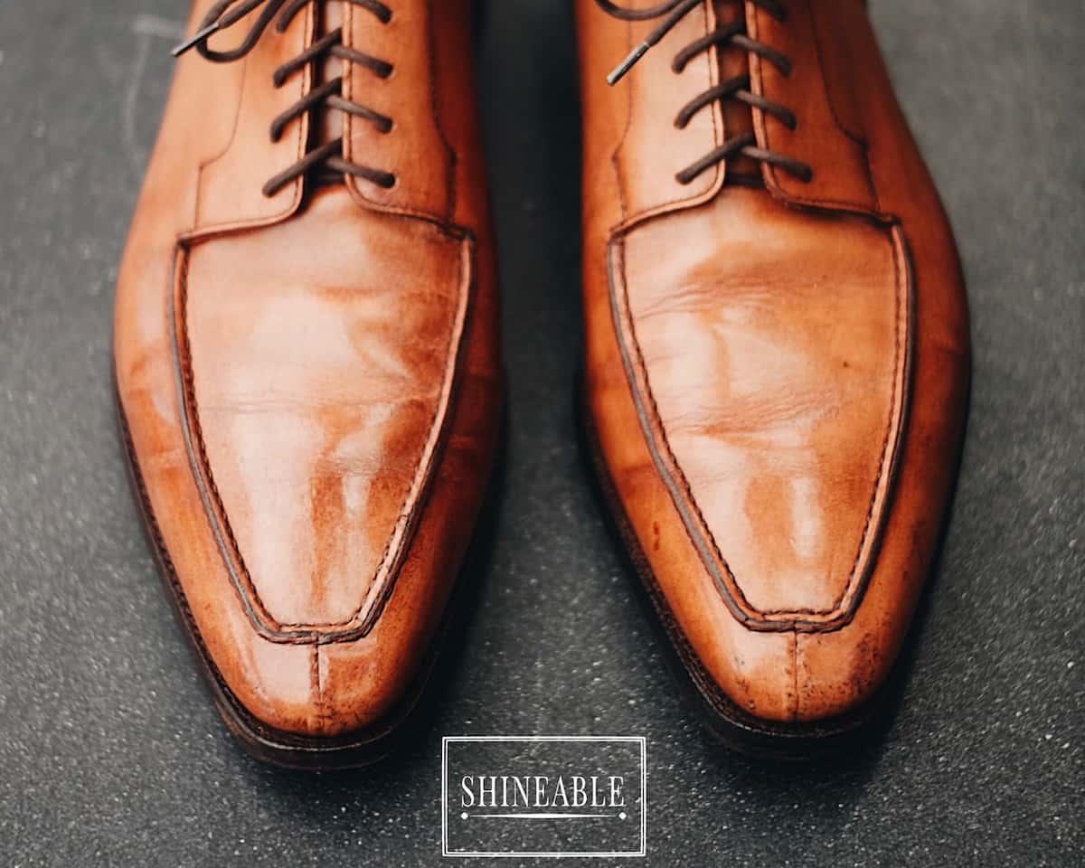 รีวิวรองเท้าหนัง George Cleverley – Oliver Norwegian Split-toe Derby